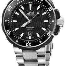 Oris ProDiver Date Black Titanium Bracelet