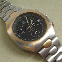 Omega Seamaster Chronograph Titan Gold Olympia Albertville