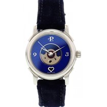Perrelet Ladies Stainless Steel Perrelet Lady Coeur Blue Dial...
