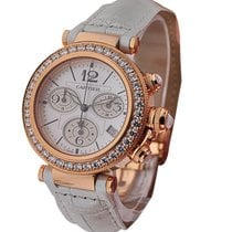 Cartier Pasha 37mm Seatimer Rose Gold Chronograph