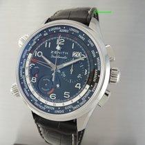 Zenith El Primero Pilot Doublematic Worldtime Chronograph