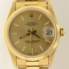 Rolex President 68278 Midsize Solid 18k Yellow Gold Watch W/...