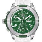 Lacoste Tonga 2010758 Herren Multifunktion grün weiß 48 mm 50 M