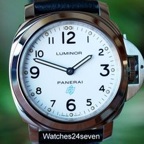 Panerai PAM 630 Luminor Base White Dial Logo Boutique Edition...