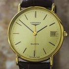 Longines Swiss Made Precision Quartz Gold Plated Mens 1990s...