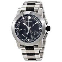 Movado Vizio Black Dial Men's Multifunction Watch