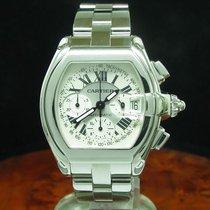 Cartier Roadster Edelstahl Chronograph Automatic Herrenuhr /...