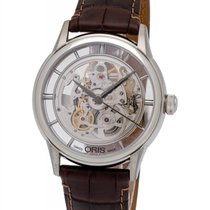 Oris Artelier Translucent Skeleton Men's Watch – 01 734 7684...