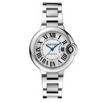 Cartier Ballon Bleu Automatic 33mm Ladies Watch Ref W6920071
