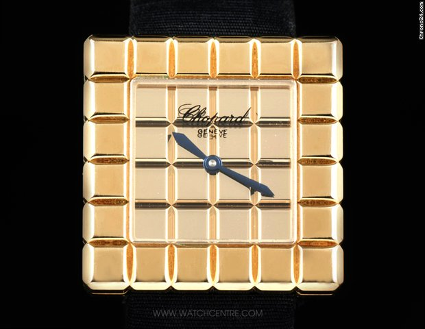 Chopard 18k Yellow Gold Ice Cube B&amp;amp;P 12/7407-0001