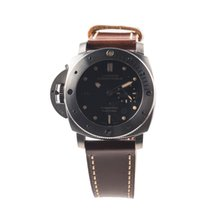 Panerai LUMINOR PAM569 SUBMERSIBLE LEFT-HANDED TITANIO...