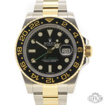 Rolex GMT Master ii Steel and Gold with Ceramic Bezel | 116713LN