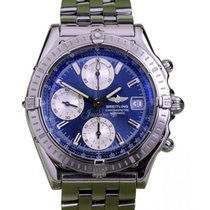 Breitling Chronomat A13352 40mm Blue Index Stainless Steel