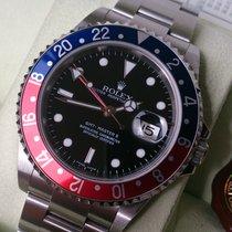 Rolex GMT II ST Ref 16710 ++Cal 3186++Rectangular++ B & P...