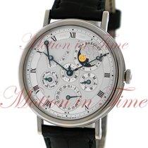 Breguet Classique Perpetual Calendar, Silver Guilloche Dial -...