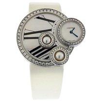 Cartier 18k White Gold & Diamond Asymmetrical Ladies'...
