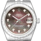Rolex Datejust 31 Ref. 178344 Dunkles Perlmutt Diamant...