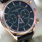 Frederique Constant VINTAGE CHRONOGRAPHE HEALEY BLACK GOLD PLATED