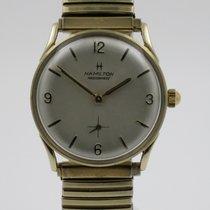 "Hamilton ""Masterpiece"" 14K gold case. Year 1965"