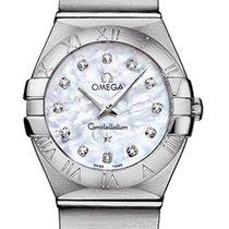 Omega Constellation Brushed 24mm 123.10.24.60.55.001