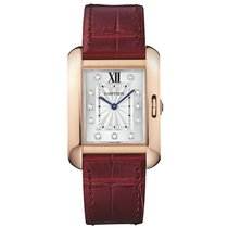 Cartier Tank Anglaise Manual Mens Watch Ref WJTA0009