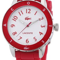 Lacoste Rio Steel & Silicone Hot Pink Womens Fashion Watch...