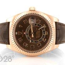 Rolex Sky-Dweller 326135 Roségold Chocolate ungetragen LC100