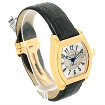 Cartier Roadster 18k Yellow Gold Silver Dial Large Watch W62005v2