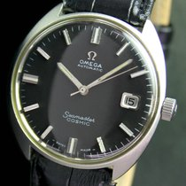 Omega Seamaster Cosmic Automatic Q/S Date Steel Mens Watch...