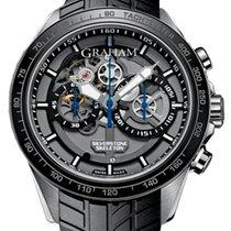 Graham Skeleton Chronograph Blue 2STAC3.B01A