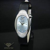 Piaget Limelight 18k White Gold Diamond Oval Ladies Quartz...