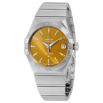 Omega Constellation Co-Axial Stainless Steel Mens Watch...