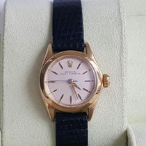 Rolex lady Oyster Perpetual 18K Gold automatik