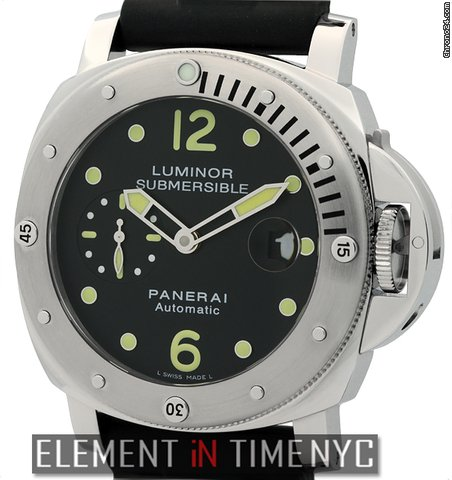 Panerai Luminor Submersible Stainless Steel 44mm  Pam 24 NIB