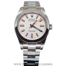 Rolex Milgauss White Dial