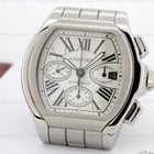 Cartier Roadster Chronograph XL Silver Dial SS / SS