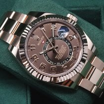 Rolex Sky-Dweller 326935 Everose Gold Bracelet Rare Chocolate...