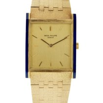 Patek Philippe 18k Yellow Gold Men's Bracelet Watch