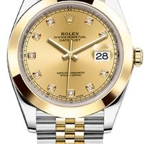 Rolex DATEJUST CHAMPAGNE DIAMOND 41MM