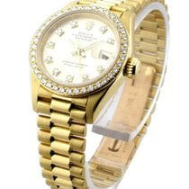 Rolex Used 179178 Ladys President - Yellow Gold with FACTORY...