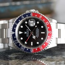 Rolex Pepsi GMT Master 2 16710 No Holes Case