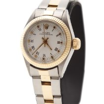 Rolex Oyster Perpetual Lady 18 ka Gold & Steel