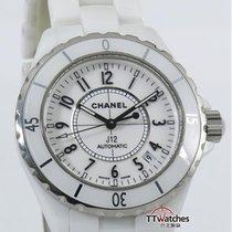 香奈儿 (Chanel) J12 White Ceramic H0970 Automatic Box Papers