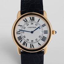 """Cartier Ronde Solo 18ct Gold & Steel """"Complete Set"""""""