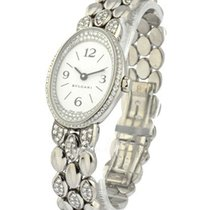 Bulgari Ladys Ovale with Pave Diamond Bracelet