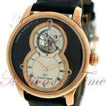 Jaquet-Droz Grande Seconde Tourbillon 43mm, Black Dial,...