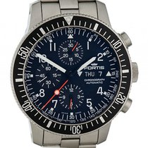 Fortis B-42 Official Cosmonauts Chronograph Stahl Automatik 42mm