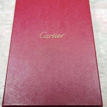 Cartier vintage red big box santos and others model with booklet