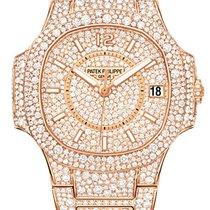 Patek Philippe Nautilus Full Diamond Rose Gold