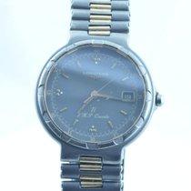 Longines Conquest Damen Uhr Quartz 34mm Titan/gold